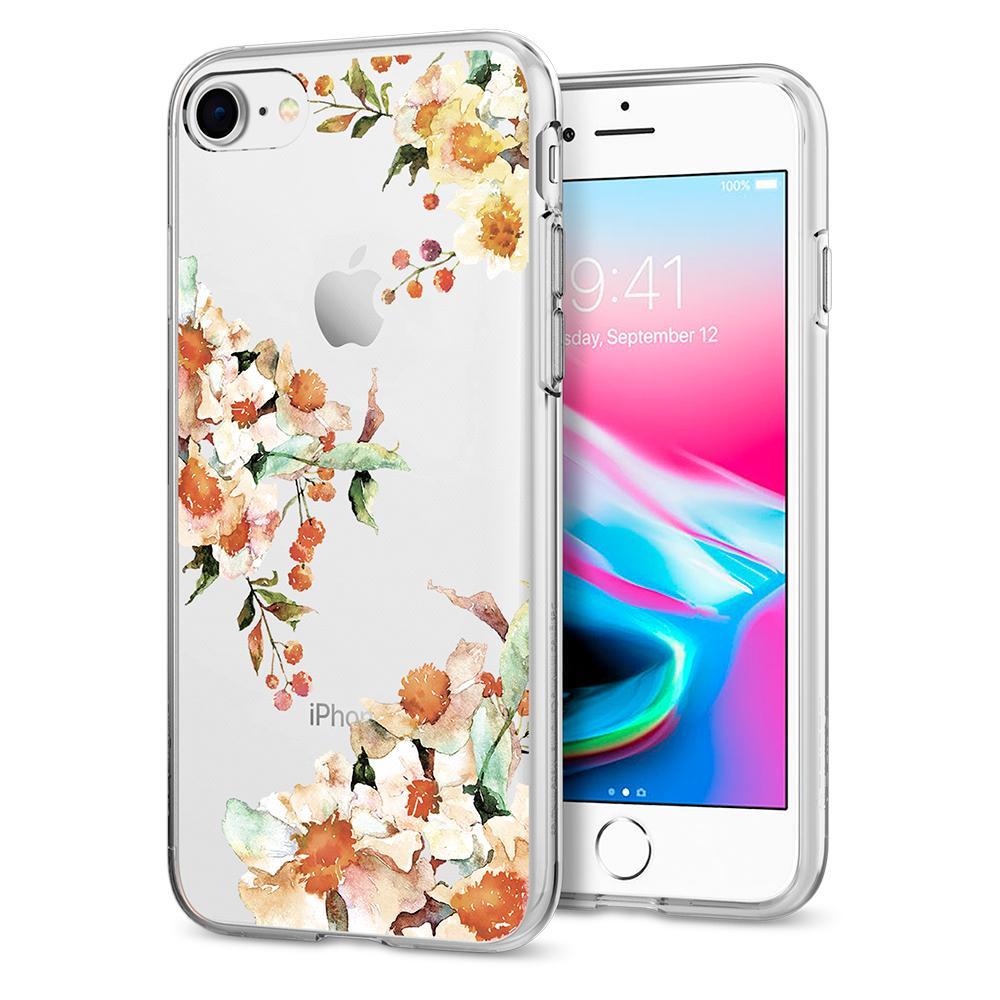 Ochranný kryt pro iPhone 7 / 8 - Spigen, Liquid Crystal Aquarelle Primrose
