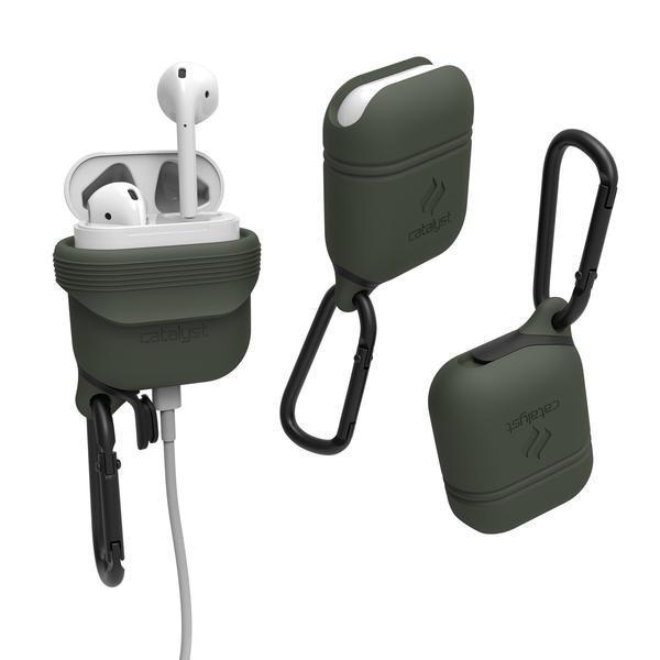 Vodotěsné pouzdro pro sluchátka AirPods - Catalyst, Army Green