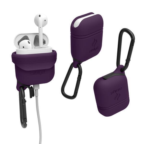 Vodotěsné pouzdro pro sluchátka AirPods - Catalyst, Deep Plum