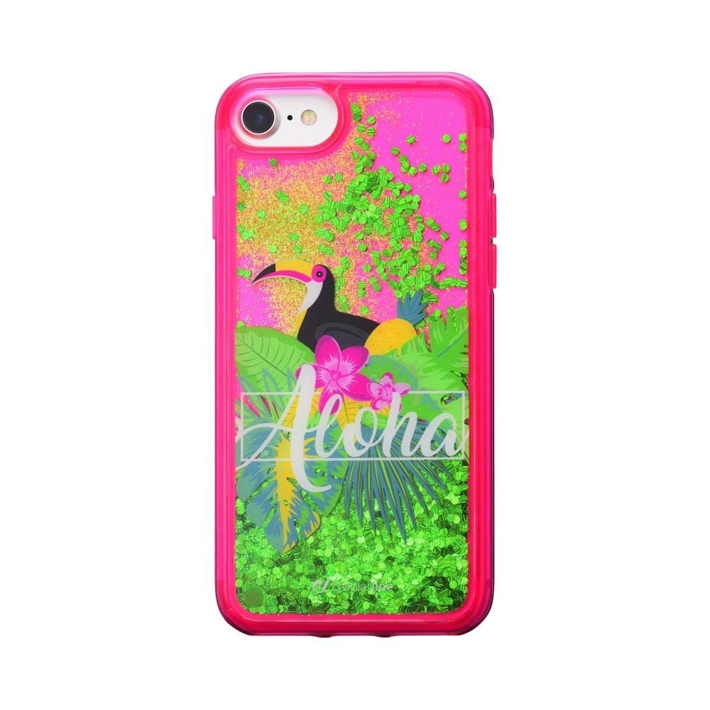 Pouzdro / kryt pro iPhone 8 / 7 / 6s / 6 - Cellularline, Stardust Aloha