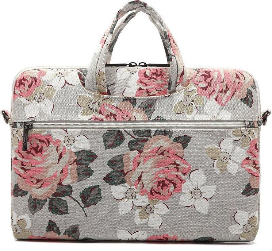 Taška na notebook - CANVASLIFE, 13 Briefcase RoseWhite