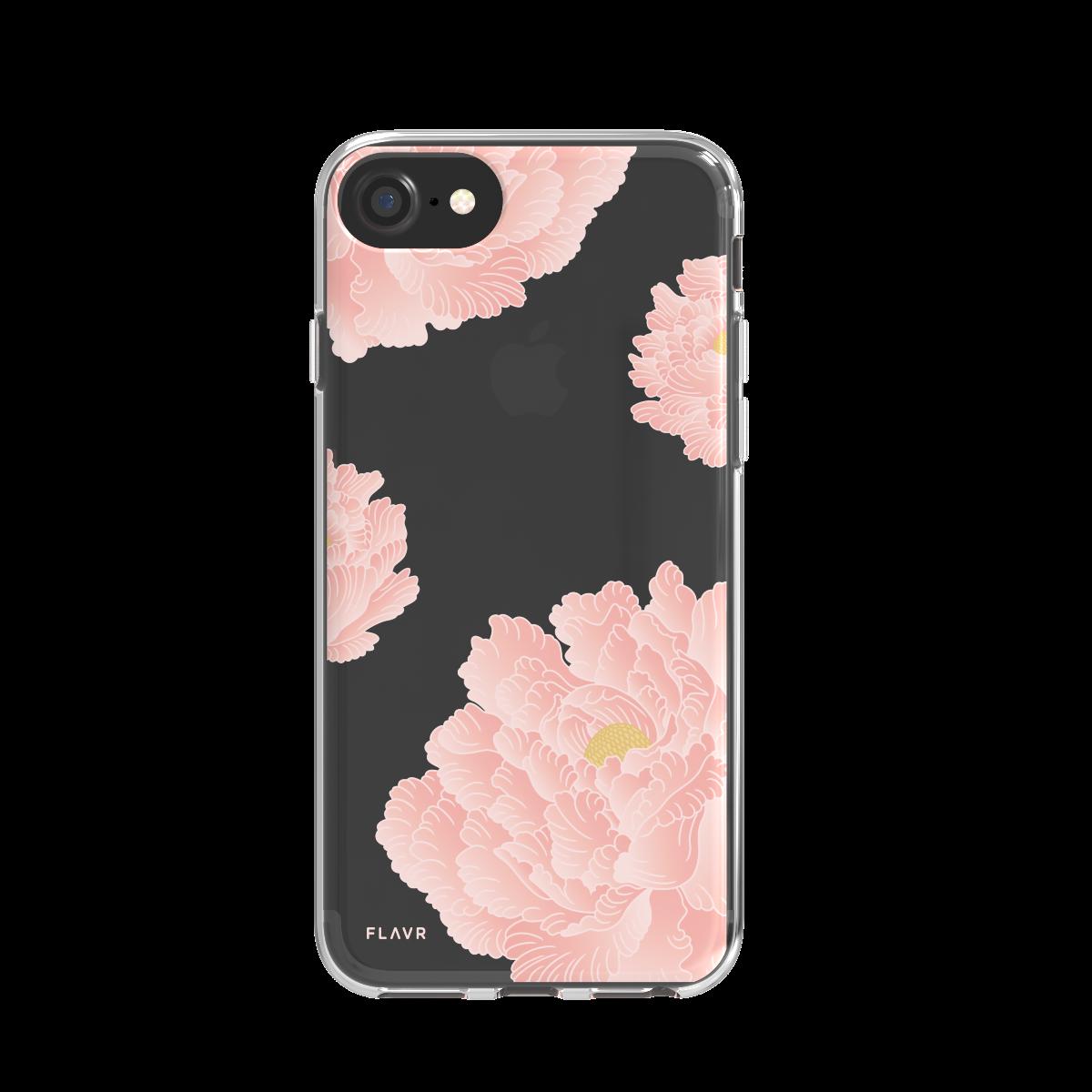 Ochranný kryt pro iPhone 8 / 7 / 6s / 6 - FLAVR, PINK PEONIES