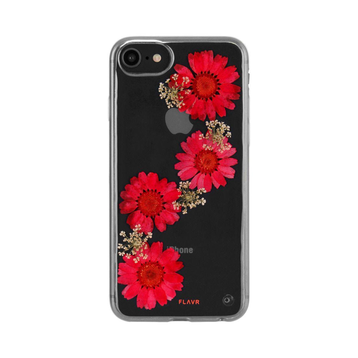 Ochranný kryt pro iPhone 8 / 7 / 6s / 6 - FLAVR, REAL FLOWER PAULA