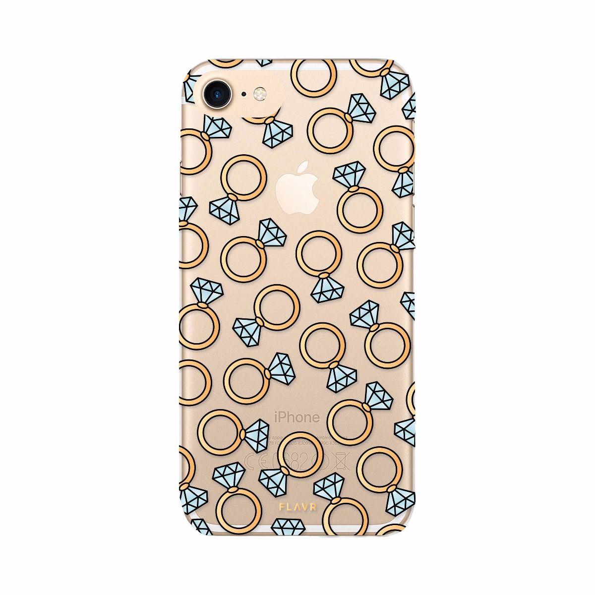 Ochranný kryt pro iPhone 7 / 8 - FLAVR, DIAMOND RINGS