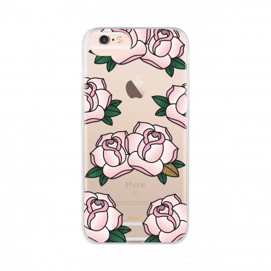 Ochranný kryt pro iPhone 8 / 7 / 6s / 6 - FLAVR, ROSES