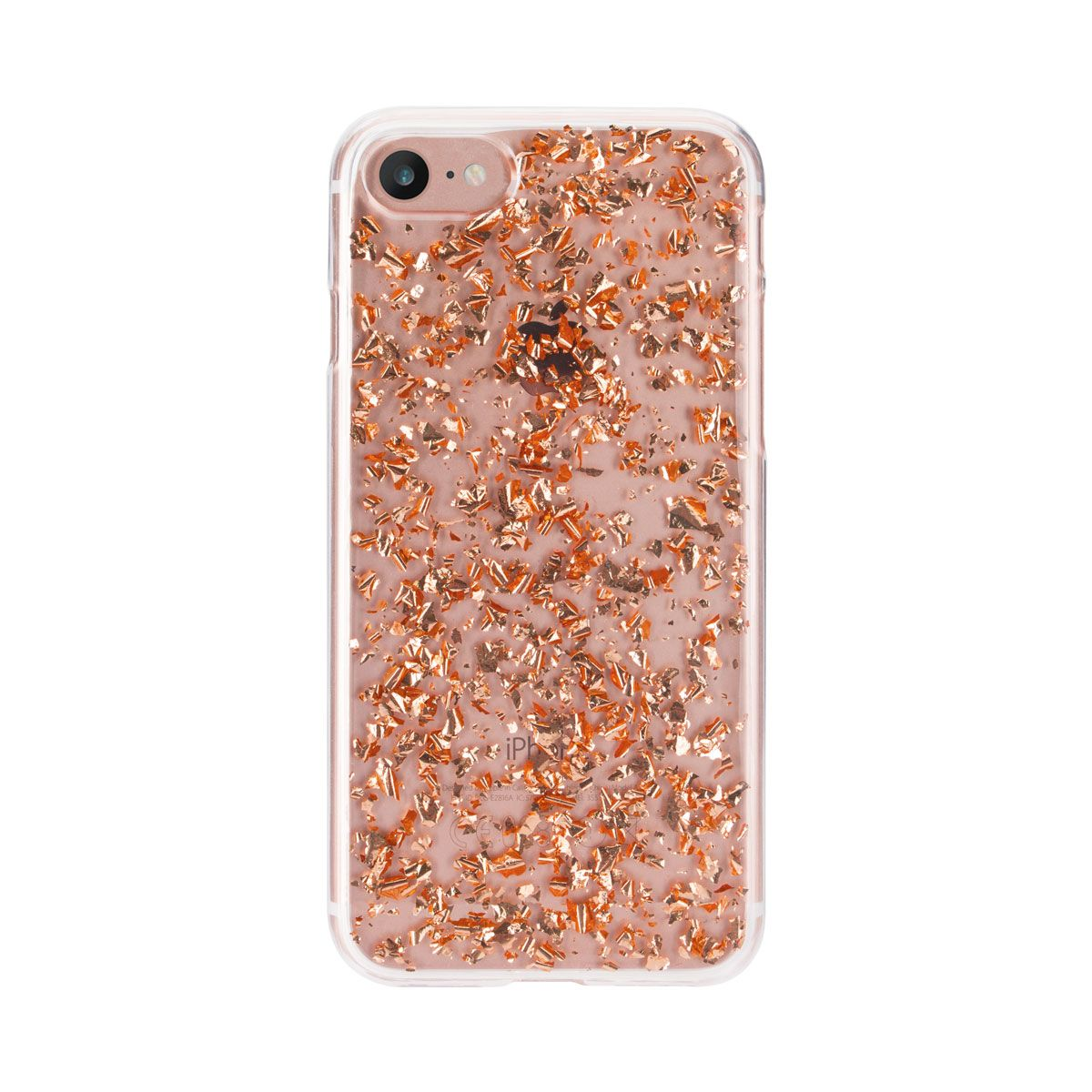 Ochranný kryt pro iPhone 8 / 7 / 6s / 6 - FLAVR, FLAKES ROSE GOLD
