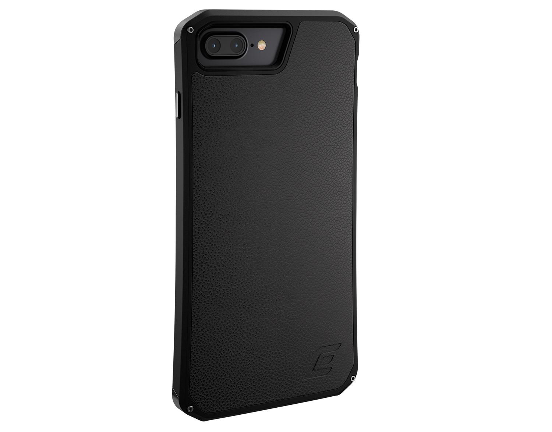 Ochranný kryt pro iPhone 7 PLUS / 8 PLUS - ELEMENTCASE, SOLACE LX BLACK