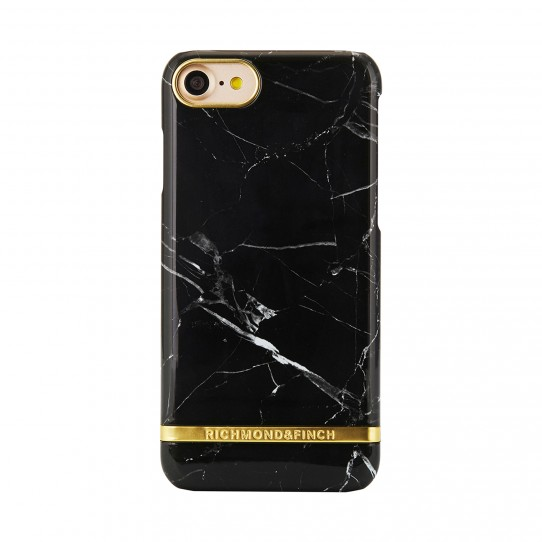 Pouzdro / kryt pro Apple iPhone 7 / 8 - Richmond & Finch, MARBLE BLACK