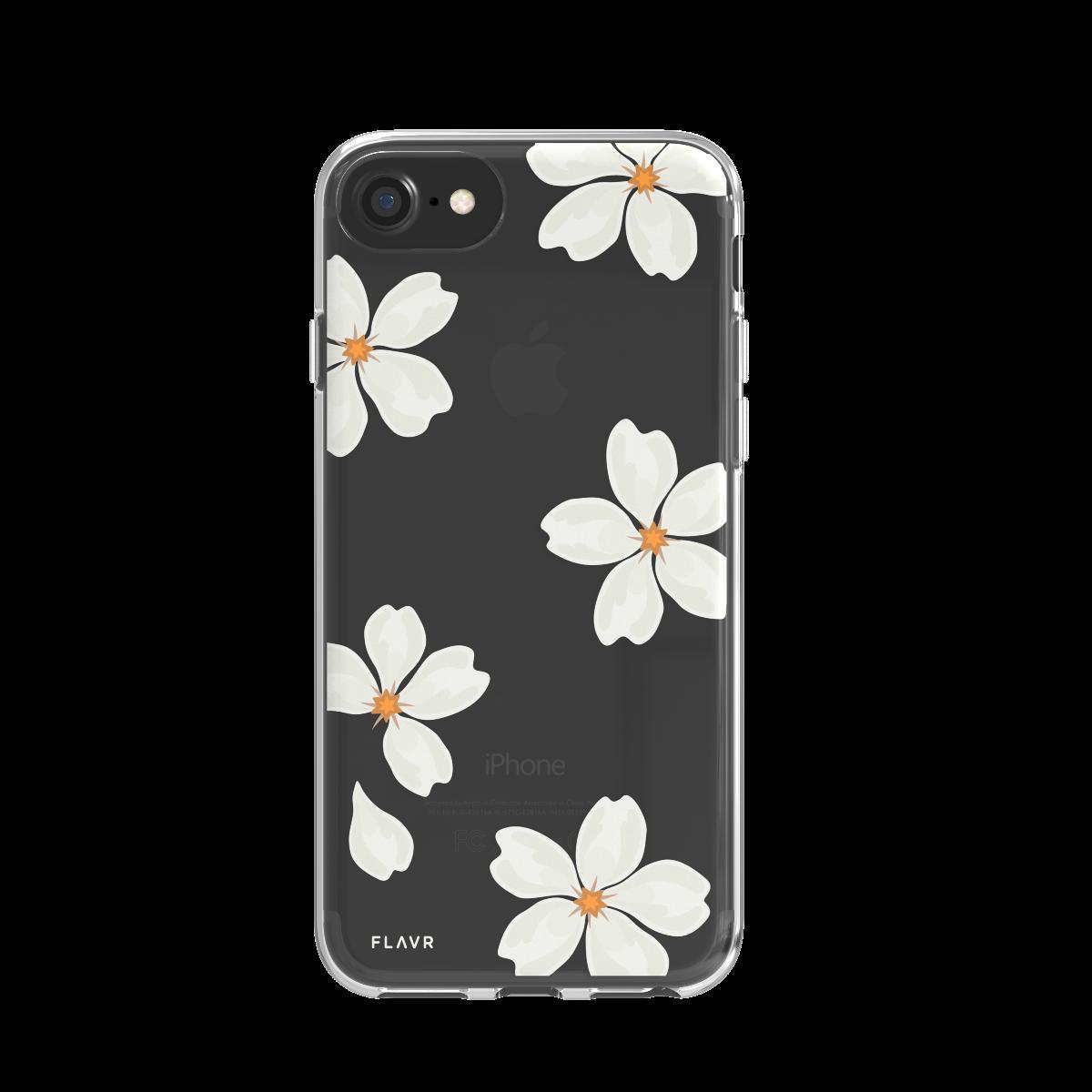 Ochranný kryt pro iPhone 8 / 7 / 6s / 6 - FLAVR, WHITE PETALS
