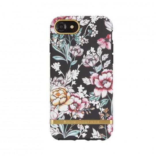 Pouzdro / kryt pro Apple iPhone 8 / 7 / 6s / 6 - Richmond & Finch, FLORAL BLACK
