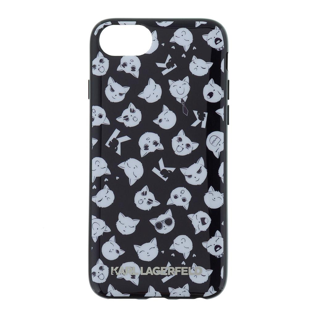 Ochranný kryt pro iPhone 8 / 7 / 6S / 6 - Karl Lagerfeld, Choupette All Over