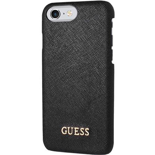 Ochranný kryt pro iPhone 7 / 8 - Guess, Saffiano Back Black