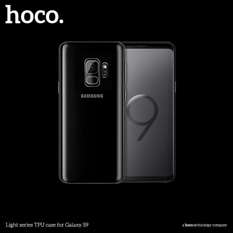 Ochranný kryt pro Samsung Galaxy S9 - Hoco, Light Transparent