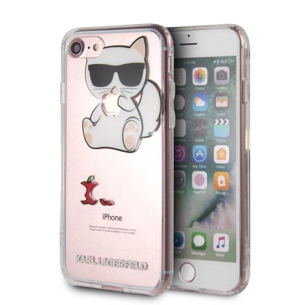 Ochranný kryt pro iPhone 7 / 8 - Karl Lagerfeld, Fun EatenAppe NoRope