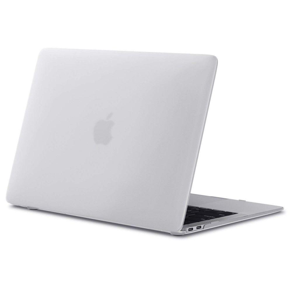 Polykarbonátové pouzdro / kryt na MacBook Air 13 (2018) - TECH-PROTECT, SMARTSHELL MATTE CLEAR