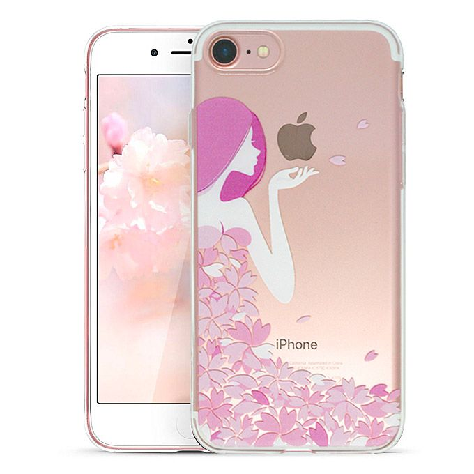 Ochranný kryt pro iPhone 7 / 8 - ESR, Mania Flower Girl