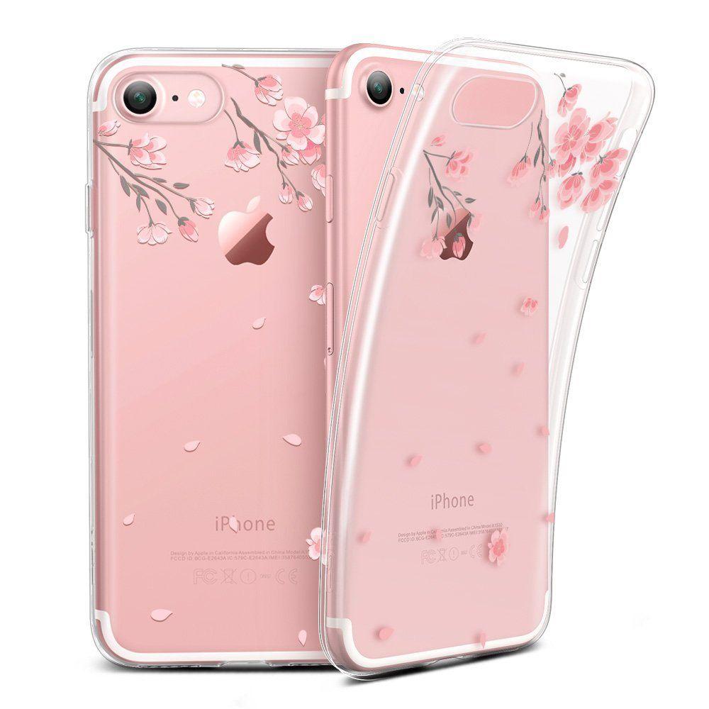 Ochranný kryt pro iPhone 7 / 8 - ESR, Mania Cherry Blossoms