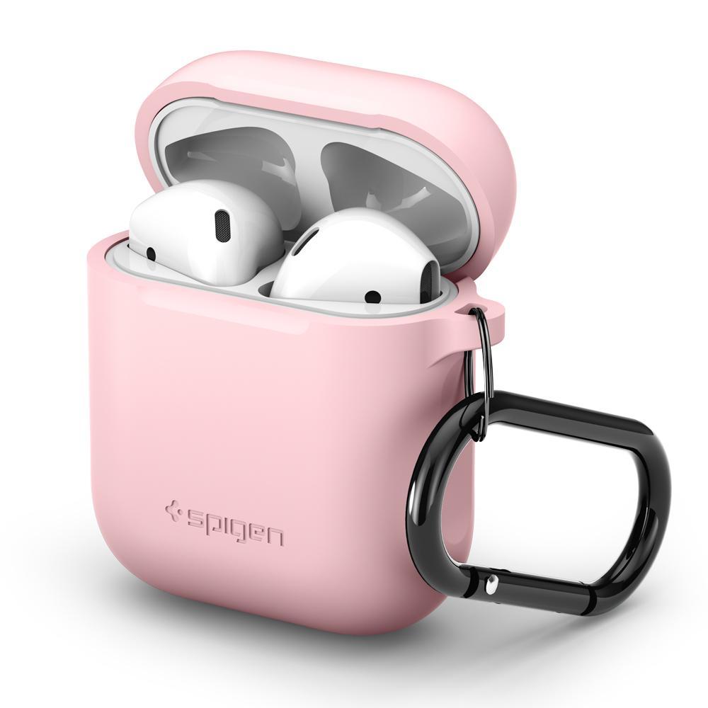 Pouzdro pro sluchátka AirPods - Spigen, AirPods Case Pink