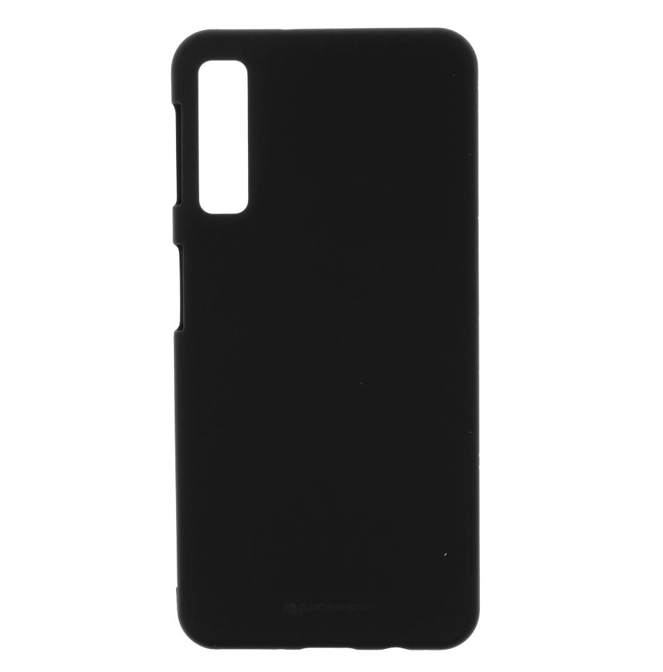 Pouzdro / kryt pro Samsung GALAXY A7 (2018) A750 - Mercury, Soft Feeling Black