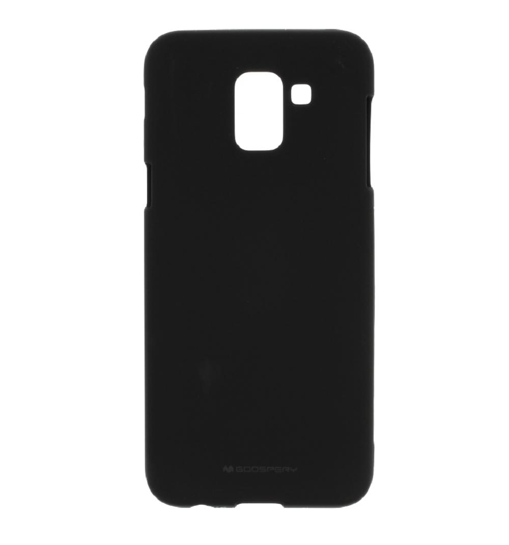 Pouzdro / kryt pro Samsung GALAXY J6 PLUS (2018) J610F - Mercury, Soft Feeling Black