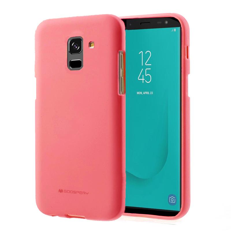 Pouzdro / kryt pro Samsung GALAXY J6 PLUS (2018) J610F - Mercury, Soft Feeling Pink