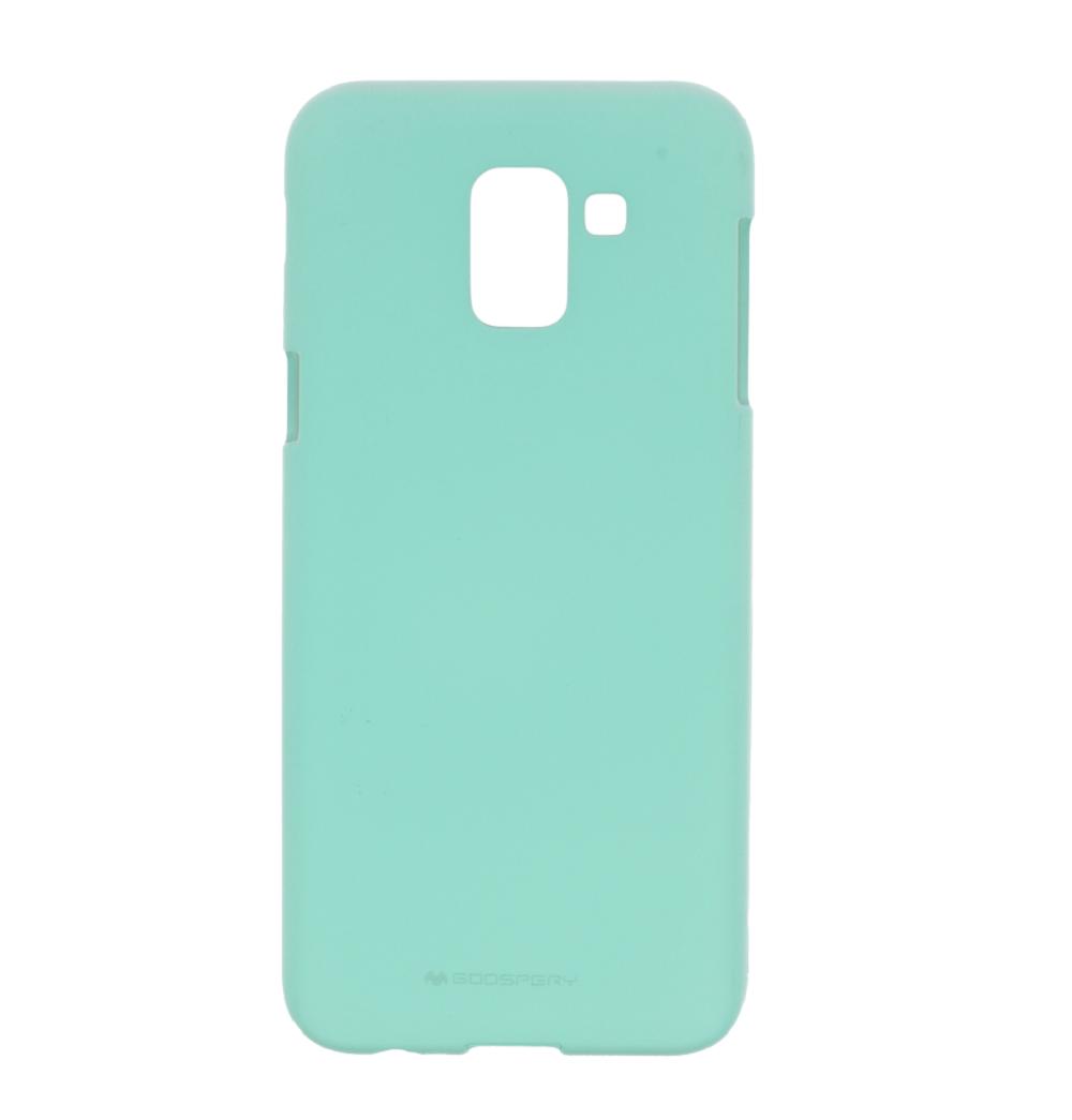 Pouzdro / kryt pro Samsung GALAXY J6 PLUS (2018) J610F - Mercury, Soft Feeling Mint