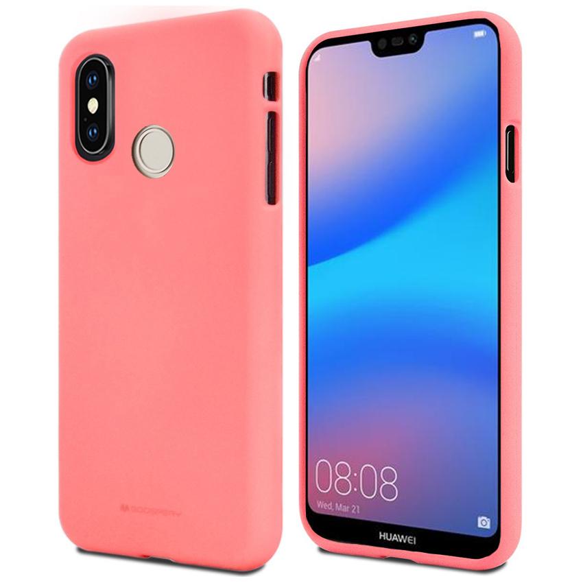 Pouzdro / kryt pro Huawei P20 LITE - Mercury, Soft Feeling Pink