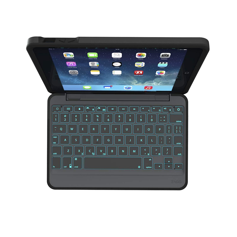 Klávesnice pro iPad mini 1 / 2 / 3 - ZAGGkeys, Rugged Book EN