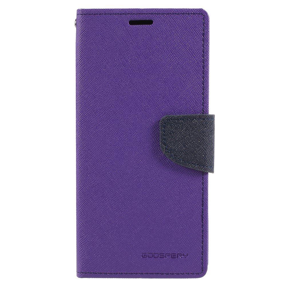 Pouzdro / kryt pro Samsung Galaxy S9 PLUS - Mercury, Fancy Diary Purple/Navy