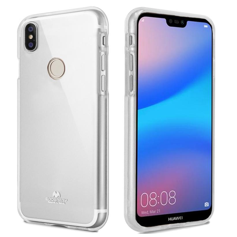 Pouzdro / kryt pro Huawei P20 LITE - Mercury, Jelly Transparent