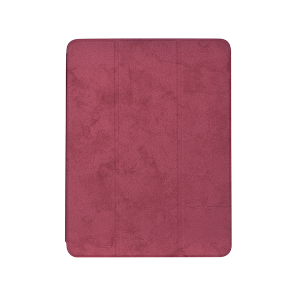 Pouzdro / kryt pro iPad 2017 / 2018 - Comma, Leather Case Red (Pencil Slot)