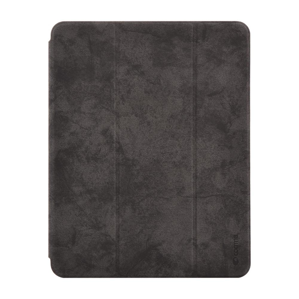 Pouzdro / kryt pro iPad Pro 11 - Comma, Leather Case Black (Pencil Slot)