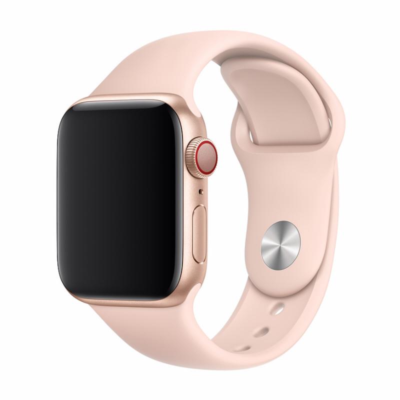 Řemínek pro Apple Watch 42mm / 44mm - Devia, Sport Pink Sand