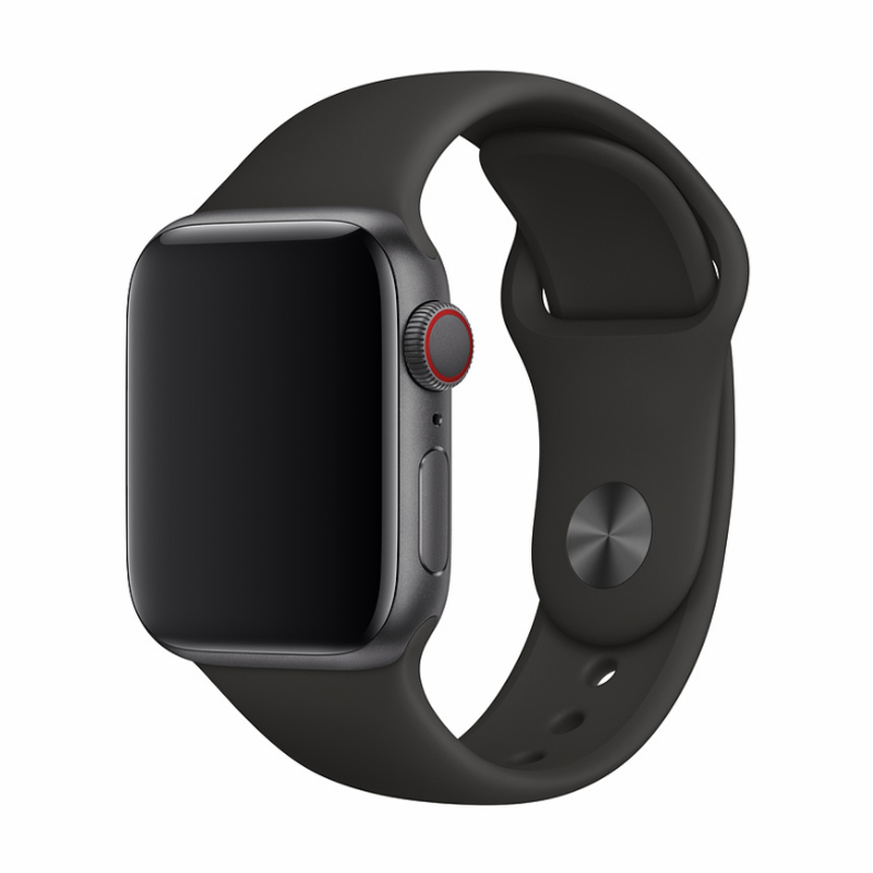 Řemínek pro Apple Watch 42mm / 44mm - Devia, Sport Black