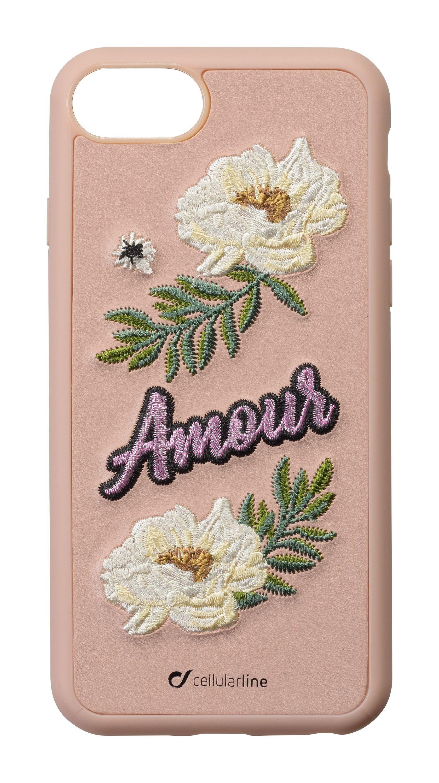 Pouzdro / kryt pro iPhone 8 / 7 / 6s / 6 - Cellularline, PATCH Amour