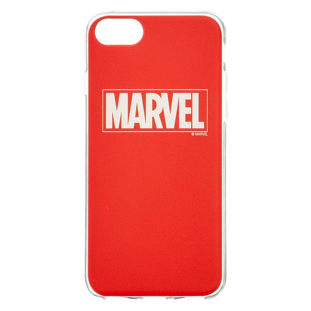 Ochranný kryt pro iPhone 8 / 7 / 6s / 6 - MARVEL, Logo 002 Red