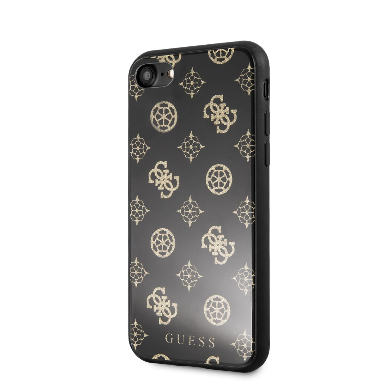 Ochranný kryt pro iPhone 7 / 8 - Guess, Peony Back Black