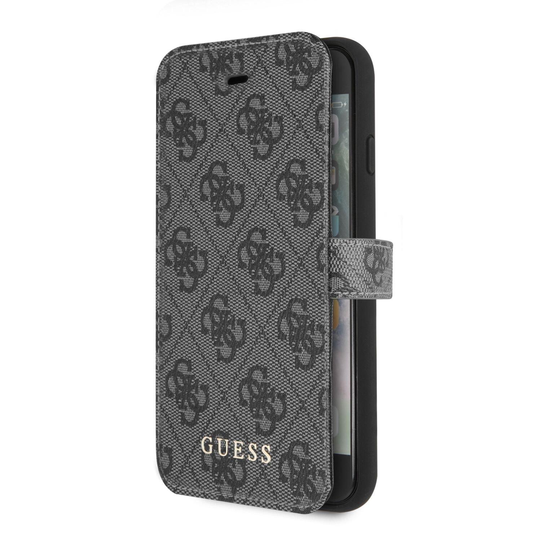 Ochranný kryt / pouzdro pro iPhone 8 / 7 / 6s / 6 - Guess, Charms Book Grey