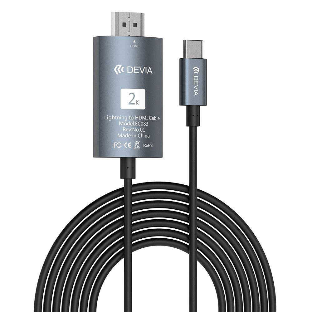 Propojovací kabel - Devia, Storm USB-C to HDMI