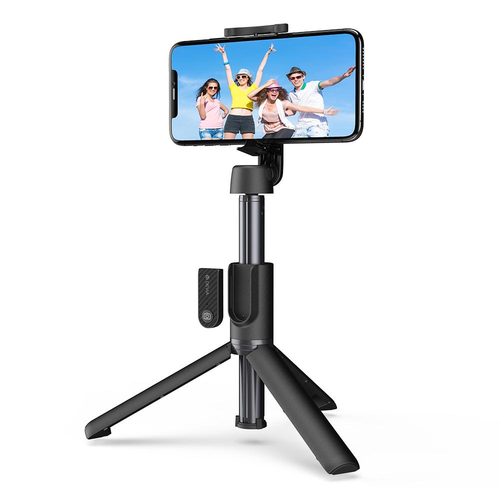 Tripod / bluetooth selfie tyč pro iPhone - Devia, Tripod Selfie Stick