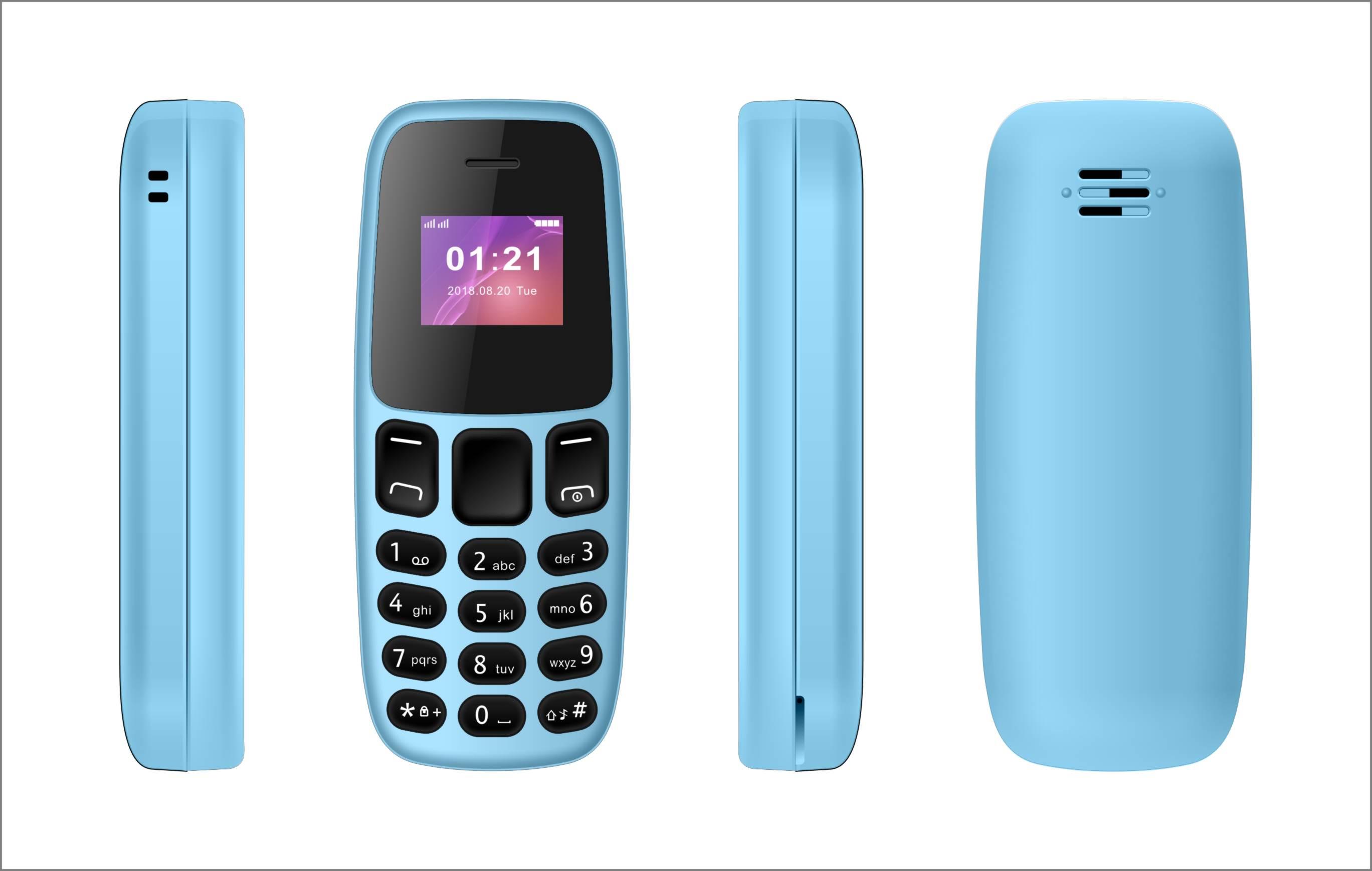 Mini mobilní telefon - L8STAR, BM105 Blue