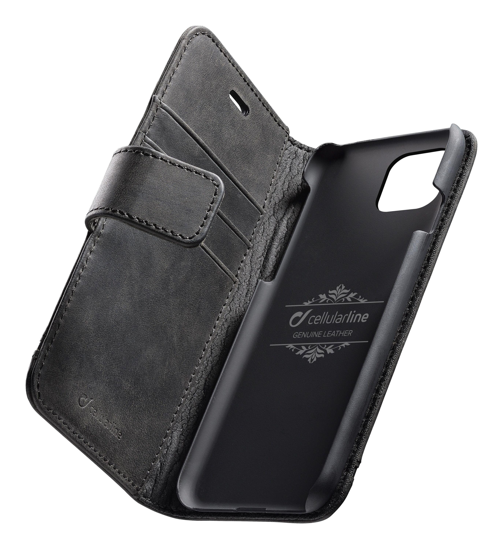 Knížkové pouzdro na iPhone 11 Pro - Cellularine, Supreme Black