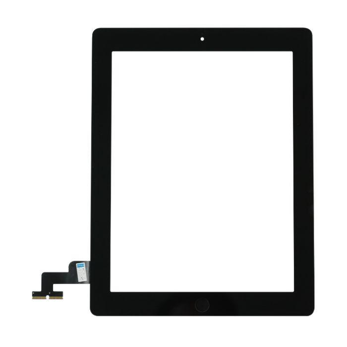 Dotykové sklo (touch screen) pro iPad 2 Black