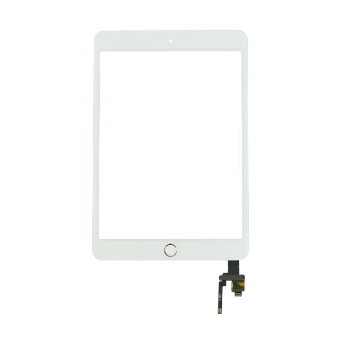 Dotykové sklo (touch screen) pro iPad mini 3 White