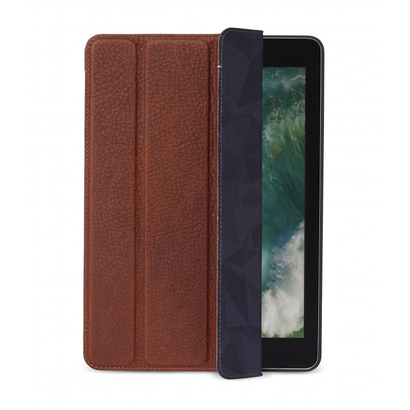 Pouzdro / kryt pro iPad 2018 / iPad 2017 / iPad Air 2 - Decoded, Leather Slim Cover Brown