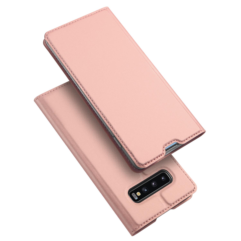 Pouzdro pro Samsung Galaxy S10 PLUS - DuxDucis, SkinPro Rose