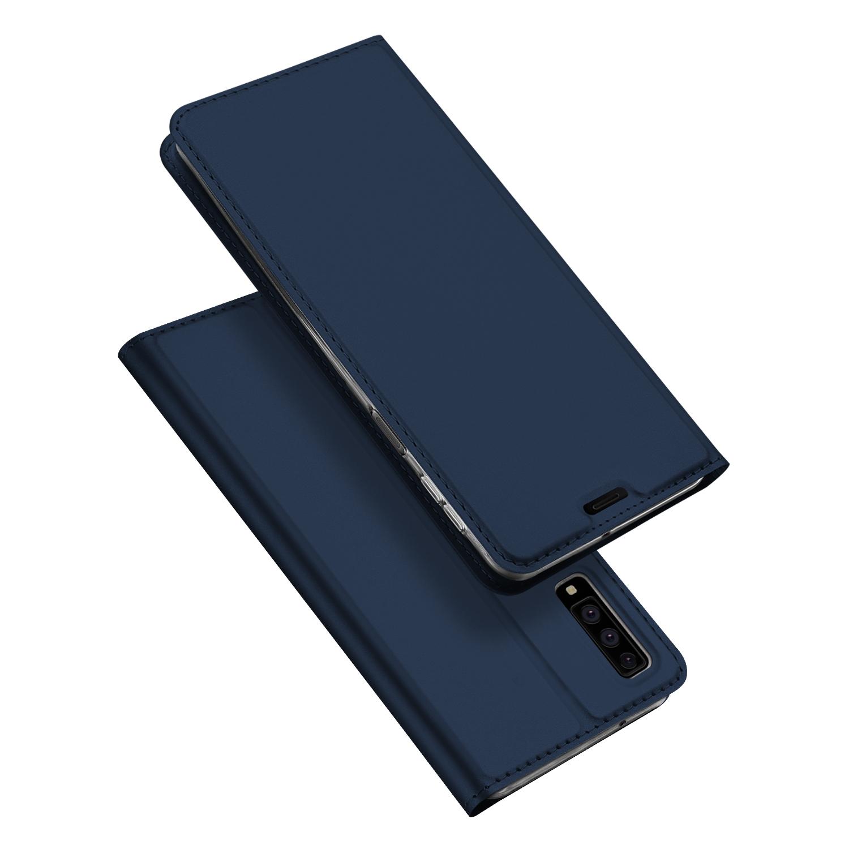 Pouzdro pro Samsung Galaxy A7 (2018) A750 - DuxDucis, SkinPro Blue