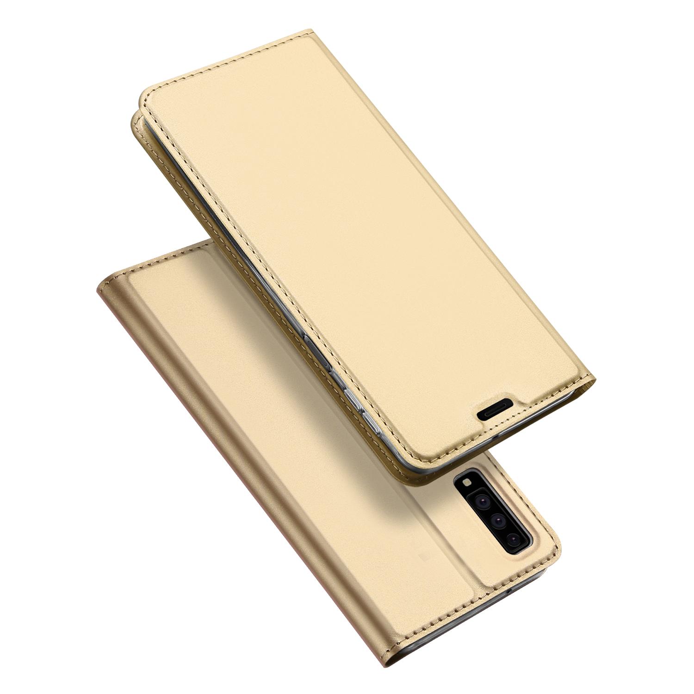 Pouzdro pro Samsung Galaxy A7 (2018) A750 - DuxDucis, SkinPro Gold