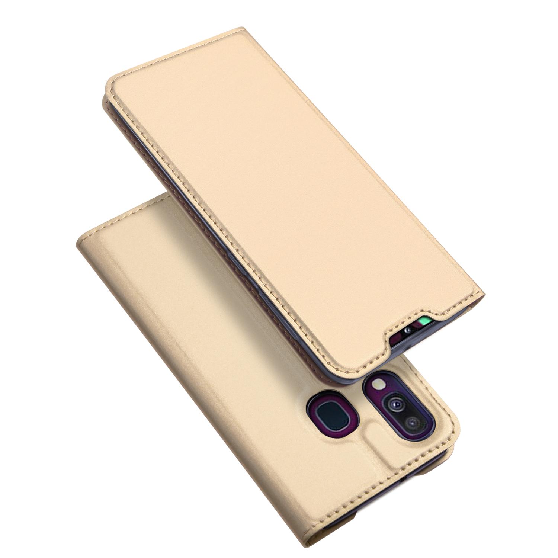 Pouzdro pro Samsung Galaxy A40 A405F - DuxDucis, SkinPro Gold
