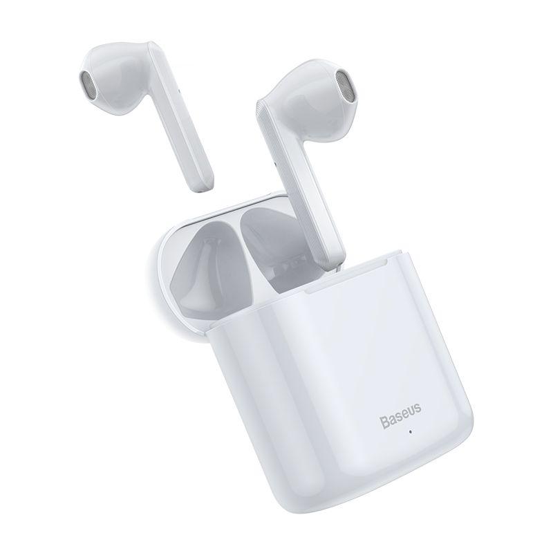 Bezdrátová sluchátka - Baseus, W09 TWS White